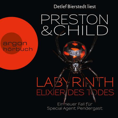 Hoerbuch Labyrinth - Elixier des Todes - Douglas Preston - Detlef Bierstedt