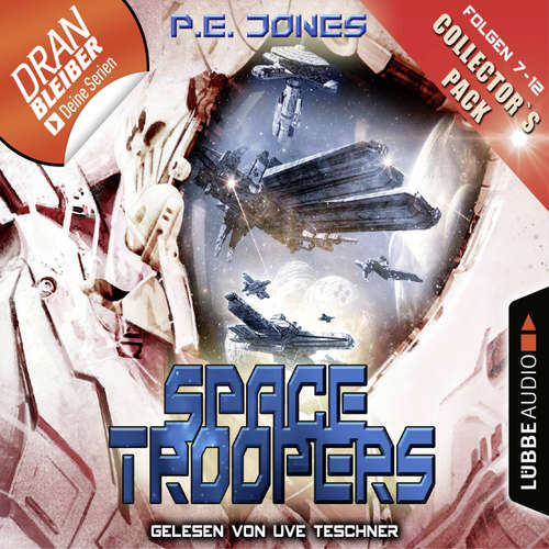 Hoerbuch Space Troopers - Collector's Pack - Folgen 7-12 - P. E. Jones - Uve Teschner