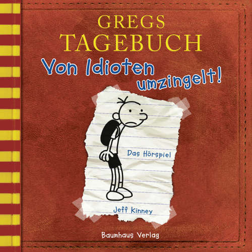 Hoerbuch Gregs Tagebuch, 1: Von Idioten umzingelt! (Hörspiel) - Jeff Kinney - Marco Eßer