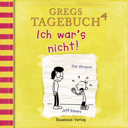Hoerbuch Gregs Tagebuch, 4: Ich war's nicht! (Hörspiel) - Jeff Kinney - Marco Eßer