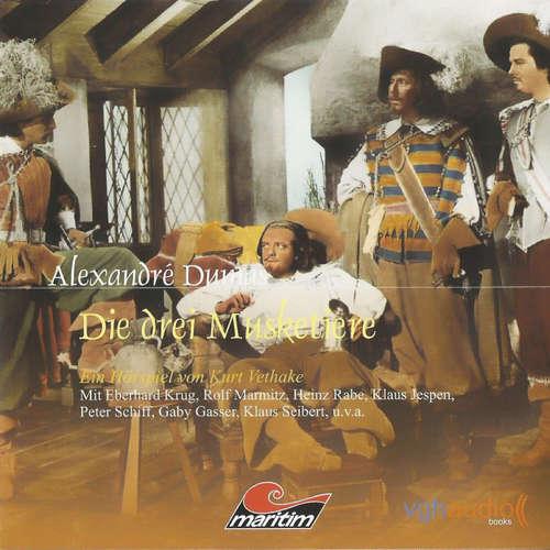 Hoerbuch Die drei Musketiere - Alexandré Dumas - Klaus Jepsen