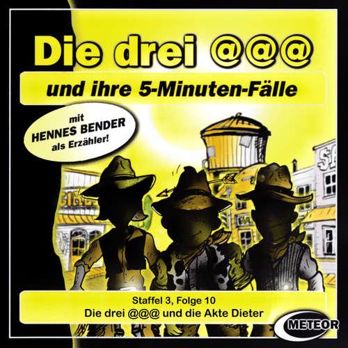 Hoerbuch Die drei @@@ (Die drei Klammeraffen), Staffel 3, Folge 10: Die drei @@@ und die Akte Dieter - Nikolaus Hartmann - Britta Lemon