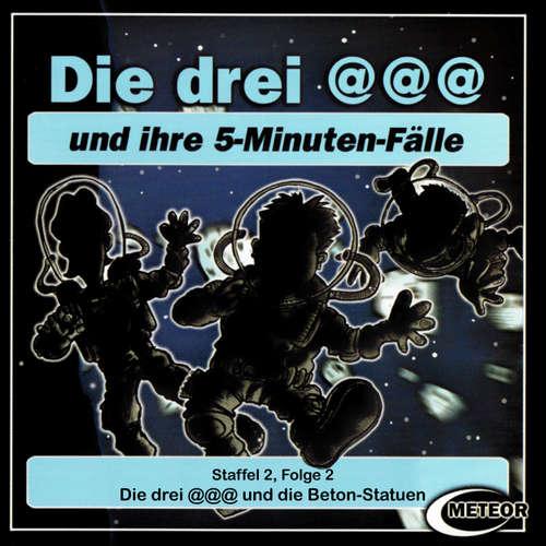 Hoerbuch Die drei @@@ (Die drei Klammeraffen), Staffel 2, Folge 2: Die drei @@@ und die Beton-Statuen - Nikolaus Hartmann - Britta Lemon
