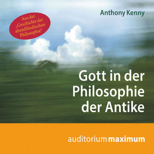 Gott in der Philosophie der Antike