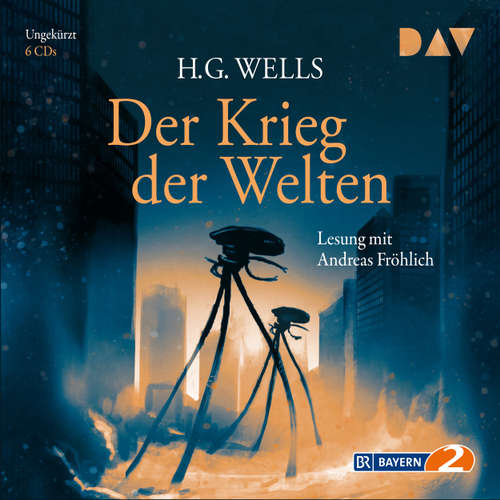 Hoerbuch Der Krieg der Welten - H.G. Wells - Andreas Fröhlich