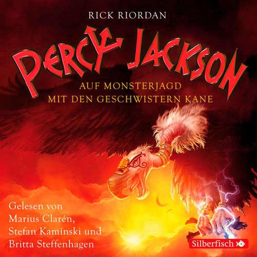 Hoerbuch Percy Jackson - Auf Monsterjagd mit den Geschwistern Kane - Rick Riordan - Stefan Kaminski