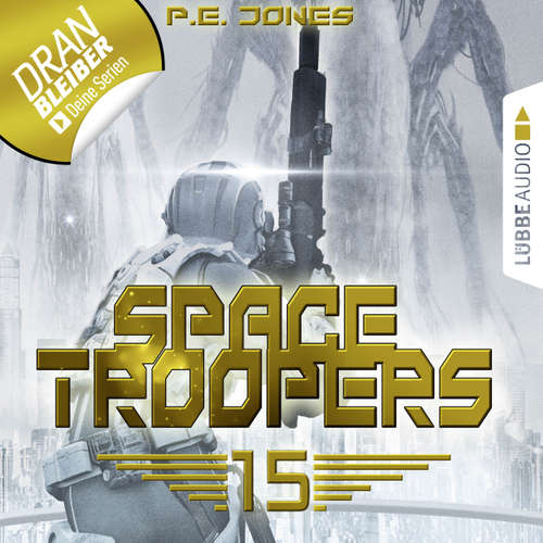Hoerbuch Space Troopers, Folge 15: Eiskalt - P. E. Jones - Uve Teschner