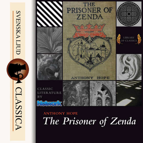 Audiobook The Prisoner of Zenda - Anthony Hope - Andy Minter