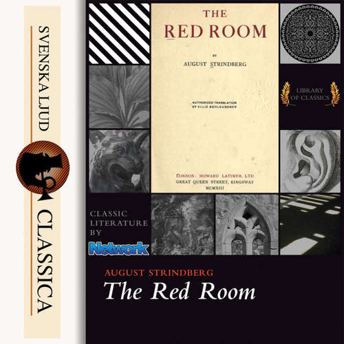 Audiobook The Red Room - August Strindberg - William Peck