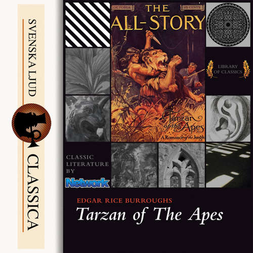 Audiobook Tarzan of the Apes - Edgar Rice Burroughs - Mark F Smith