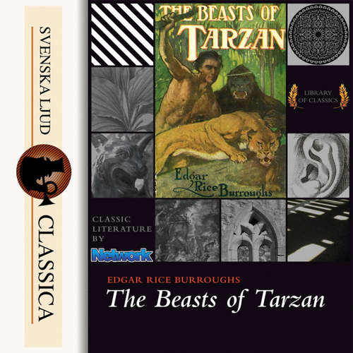 Audiobook The Beasts of Tarzan - Edgar Rice Burroughs - James Christopher