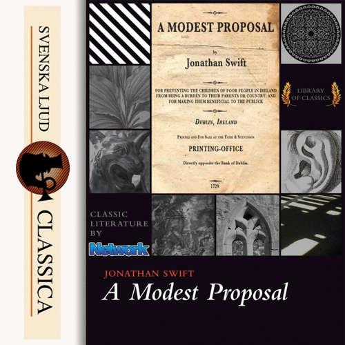 Audiobook A Modest Proposal - Jonathan Swift - John Gonzales