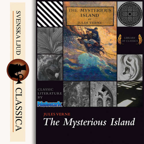 Audiobook The Mysterious Island - Jules Verne - Mark F Smith