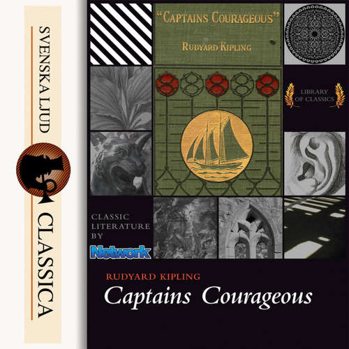 Audiobook Captain Courageous - Rudyard Kipling - Mark F Smith