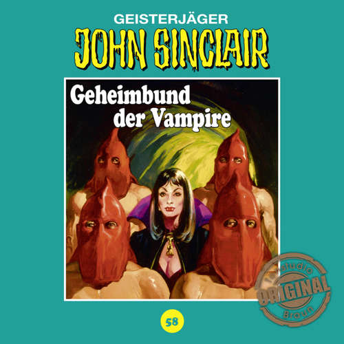 Hoerbuch John Sinclair, Tonstudio Braun, Folge 58: Geheimbund der Vampire - Jason Dark -  Diverse