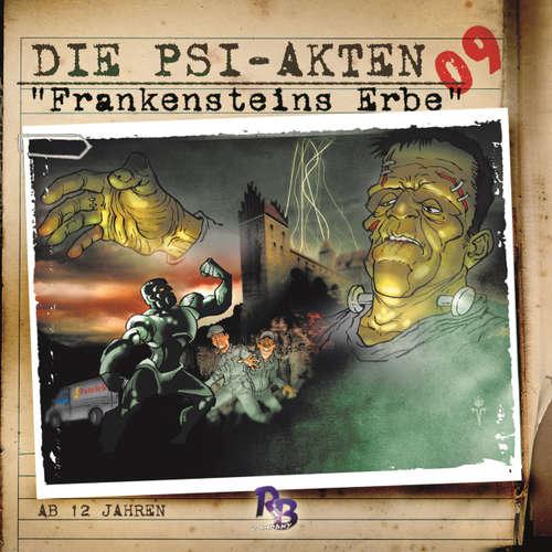 Hoerbuch Die PSI-Akten, Folge 9: Frankensteins Erbe - Simeon Hrissomallis - Henry König