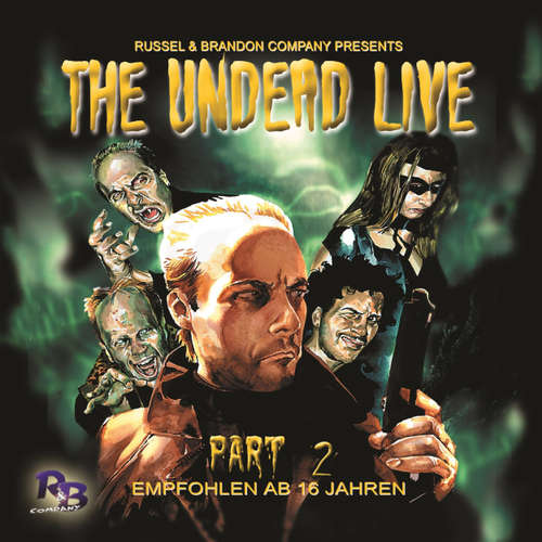Audiobook The Undead Live, Part 2: The Rising of the Living Dead - Simeon Hrissomallis - Randolf Kronberg