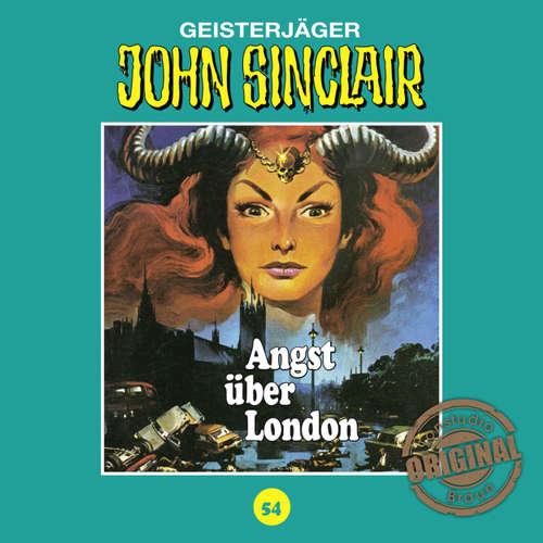 Hoerbuch John Sinclair, Tonstudio Braun, Folge 54: Angst über London - Jason Dark -  Diverse
