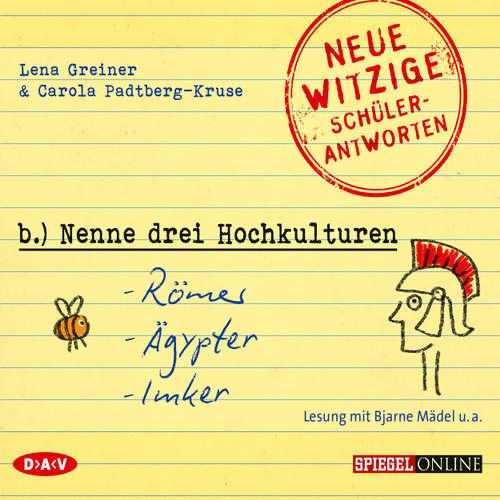 """""""Nenne drei Hochkulturen: Römer, Ägypter, Imker"""" (Szenische Lesung)"""