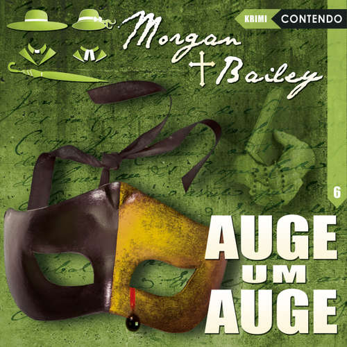 Hoerbuch Morgan & Bailey, Folge 6: Auge um Auge - Markus Topf - Rita Engelmann