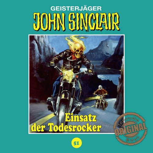 Hoerbuch John Sinclair, Tonstudio Braun, Folge 51: Einsatz der Todesrocker - Jason Dark -  Diverse