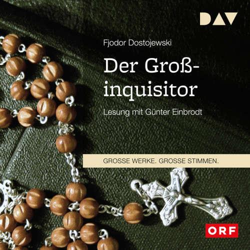 Hoerbuch Der Großinquisitor - Fjodor Dostojewski - Günter Einbrodt