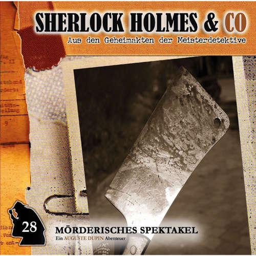Hoerbuch Sherlock Holmes & Co, Folge 28: Mörderisches Spektakel - Markus Duschek - Douglas Welbat
