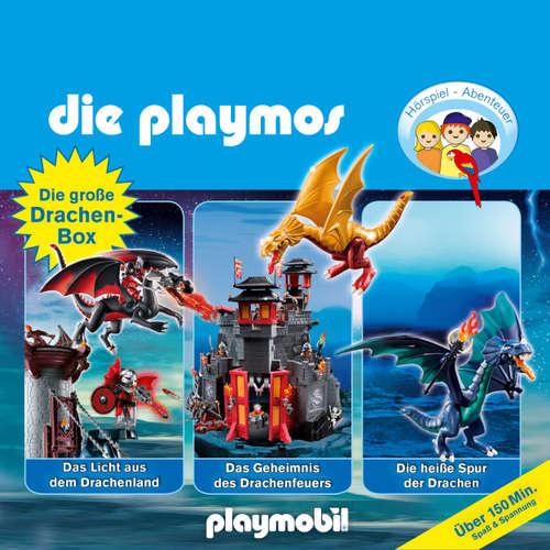 Die Playmos - Das Original Playmobil Hörspiel, Die große Drachen-Box, Folgen 13, 38, 50: Das Licht aus dem Drachenland / Das Geheimnis des Drachenfeuers / Die heiße Spur der Drachen
