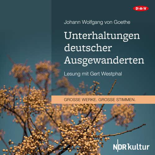 Unterhaltungen deutscher Ausgewanderten (Lesung)