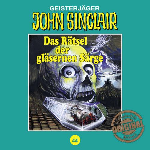 Hoerbuch John Sinclair, Tonstudio Braun, Folge 44: Das Rätsel der gläsernen Särge - Jason Dark -  Diverse