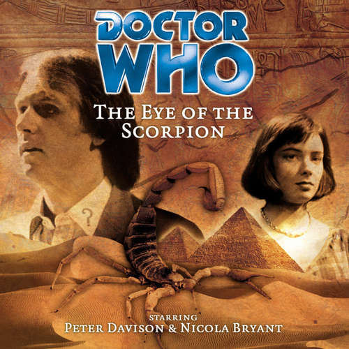 Audiobook Doctor Who, Main Range, 24: The Eye of the Scorpion - Iain McLaughlin - Peter Davison