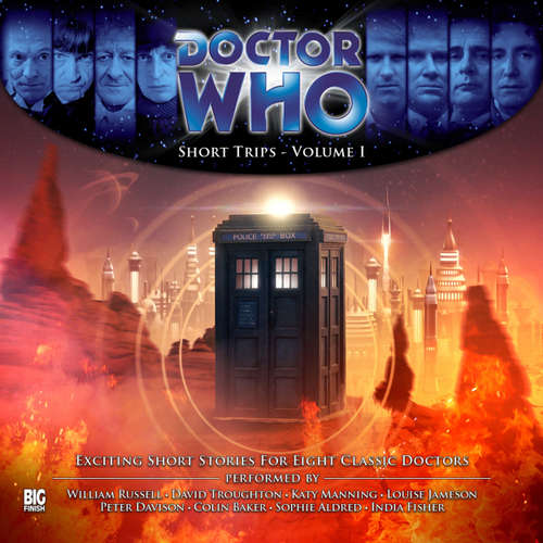 Audiobook Doctor Who, Vol. 1: Short Trips - George Mann - William Russell