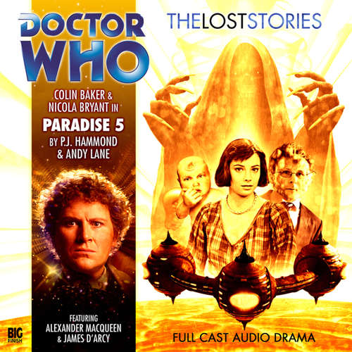 Audiobook Doctor Who - The Lost Stories, Series 1, 5: Paradise 5 - PJ Hammond - Colin Baker