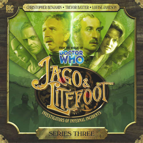 Audiobook Jago & Litefoot, Series 3 - Justin Richards - Christopher Benjamin