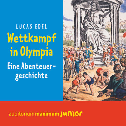 Hoerbuch Wettkampf in Olympia - Lucas Edel - Thomas Krause