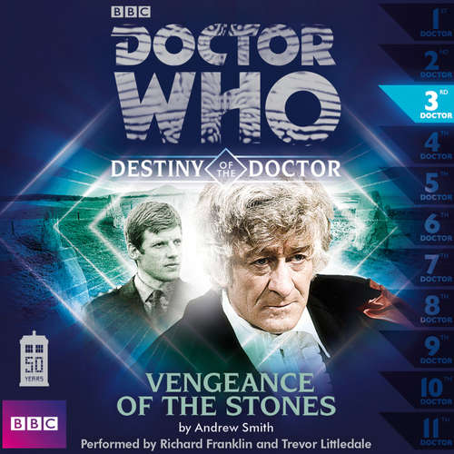 Audiobook Doctor Who - Destiny of the Doctor, Series 1, 3: Vengeance of the Stones - Andrew Smith - Richard Franklin