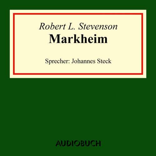 Hoerbuch Markheim - Robert Louis Stevenson - Johannes Steck