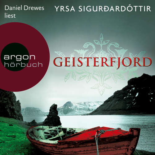 Hoerbuch Geisterfjord - Island-Thriller - Yrsa Sigurdardóttir - Christiane Marx