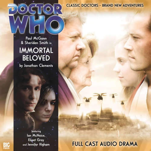 Audiobook Doctor Who - The 8th Doctor Adventures, 1, 4: Immortal Beloved - Jonathan Clements - Paul McGann