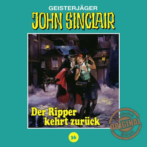 Hoerbuch John Sinclair, Tonstudio Braun, Folge 36: Der Ripper kehrt zurück. Teil 1 von 2 - Jason Dark -  Diverse