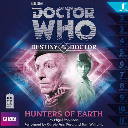 Audiobook Doctor Who - Destiny of the Doctor, Series 1, 1: Hunters of Earth - Nigel Robinson - Carole Ann Ford