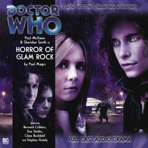 Audiobook Doctor Who - The 8th Doctor Adventures, Series 1, 3: Horror of Glam Rock - Paul Magrs - Paul McGann