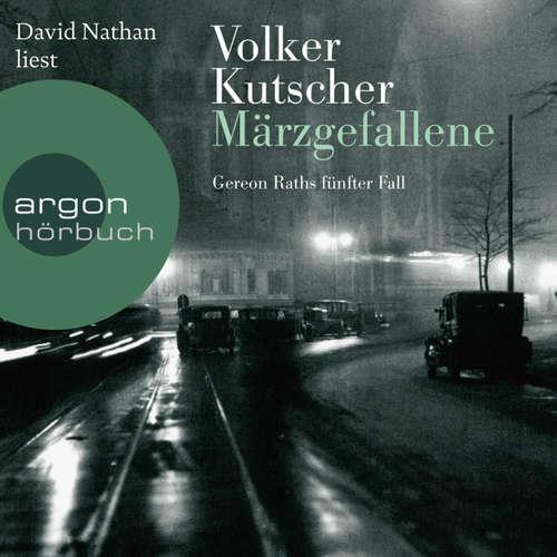 Hoerbuch Märzgefallene - Volker Kutscher - David Nathan