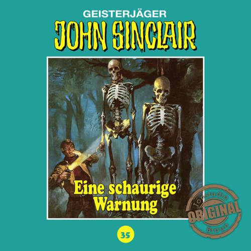 Hoerbuch John Sinclair, Tonstudio Braun, Folge 35: Ein schaurige Warnung - Jason Dark -  Diverse