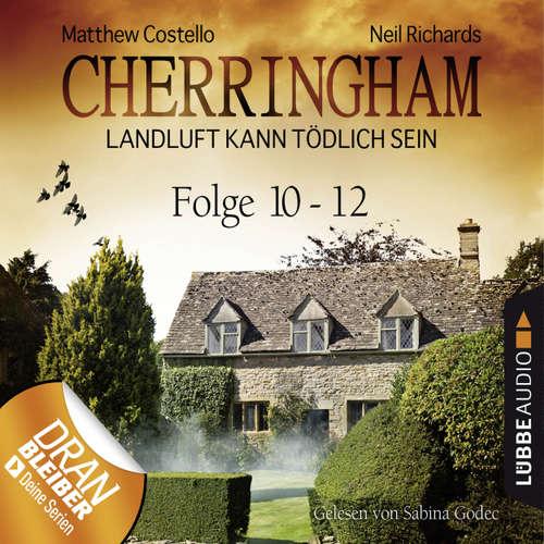 Hoerbuch Cherringham - Landluft kann tödlich sein, Sammelband 04: Folge 10-12 - Matthew Costello - Sabina Godec