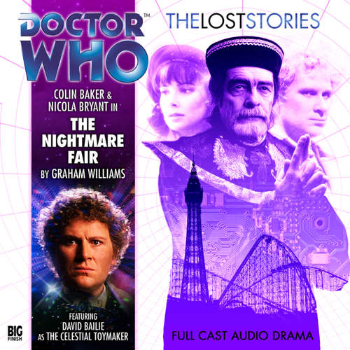 Audiobook Doctor Who - The Lost Stories, Series 1, 1: The Nightmare Fair - Graham Williams - Colin Baker