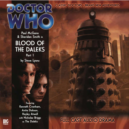 Audiobook Doctor Who - The 8th Doctor Adventures, Series 1, 1: Blood of the Daleks - Steve Lyons - Paul McGann