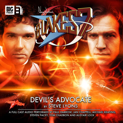 Audiobook Blake's 7, 2: The Classic Adventures, 5: Devil's Advocate - Steve Lyons - Paul Darrow