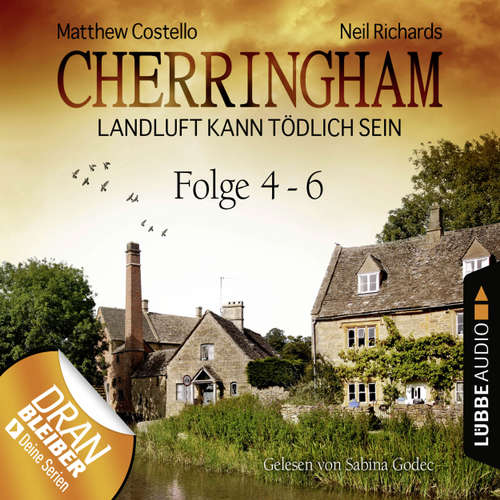 Hoerbuch Cherringham - Landluft kann tödlich sein, Sammelband 2: Folge 4-6 - Matthew Costello - Sabina Godec