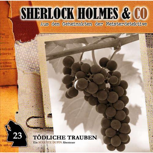 Hoerbuch Sherlock Holmes & Co, Folge 23: Tödliche Trauben - Markus Duschek - Martin Keßler
